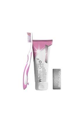 White Glo Whıte Glo Hassas Dişler Için Diş Macunu 150 Gr + Fırça Hediyeli