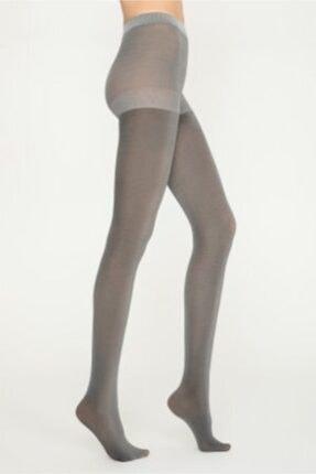 Penti Kadın Gümüş Gri Külotlu Çorap