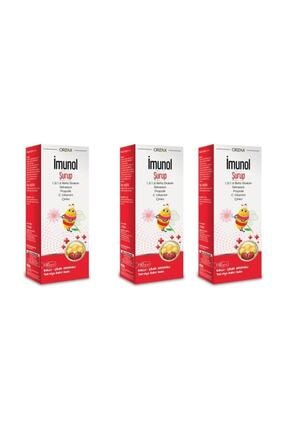 Orzax Imunol Şurup 150 ml 3'lü Paket