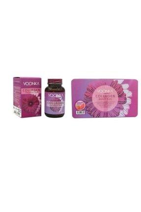 Voonka Çilek Karpuz  Collagen 32 Tablet  Beauty Hyaluronic Acid 32 Tablet