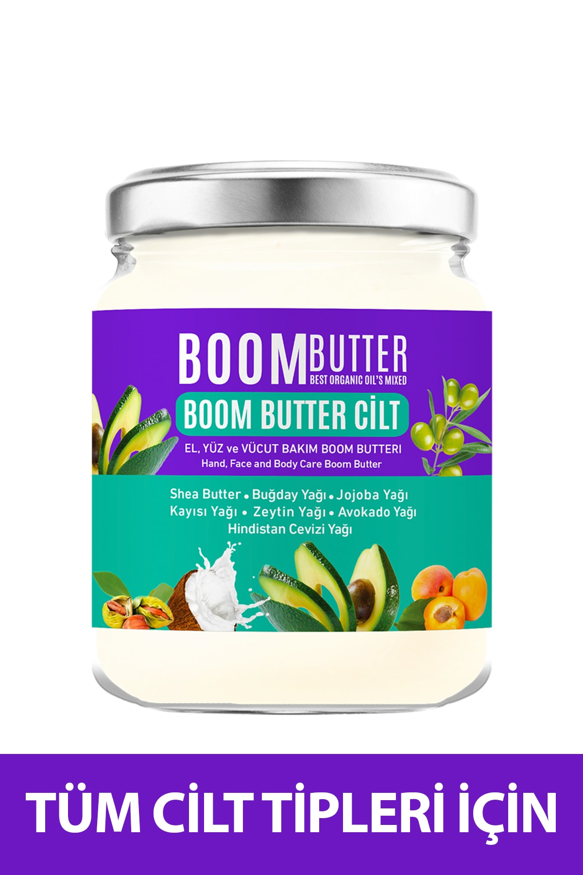 Herbal Science Boom Butter Cilt Bakım Yağı 190 ml 8697863681723 1