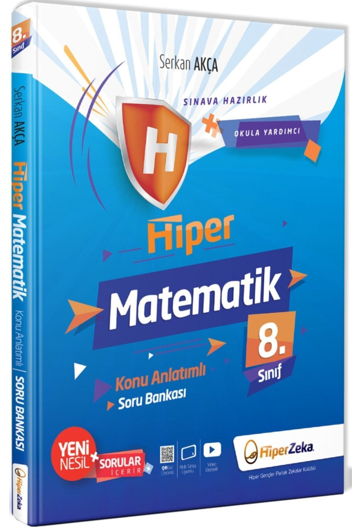 Hiper Zeka Yayınları 8. Sınıf Matematik Konu Anlatımlı & Soru Bankası 1