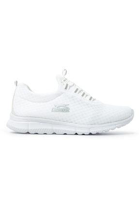 Slazenger ALBUS I Sneaker Kadın Ayakkabı Beyaz SA11RK026