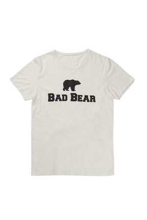 Bad Bear Bed Bear Erkek Beyaz Tee Tişört
