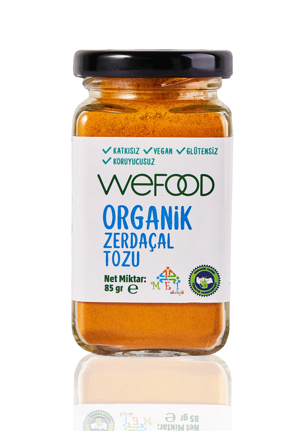 Wefood Organik Zerdeçal Tozu 85 Gr 1
