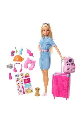 Barbie Seyahatte Ve Aksesuarları Fwv25