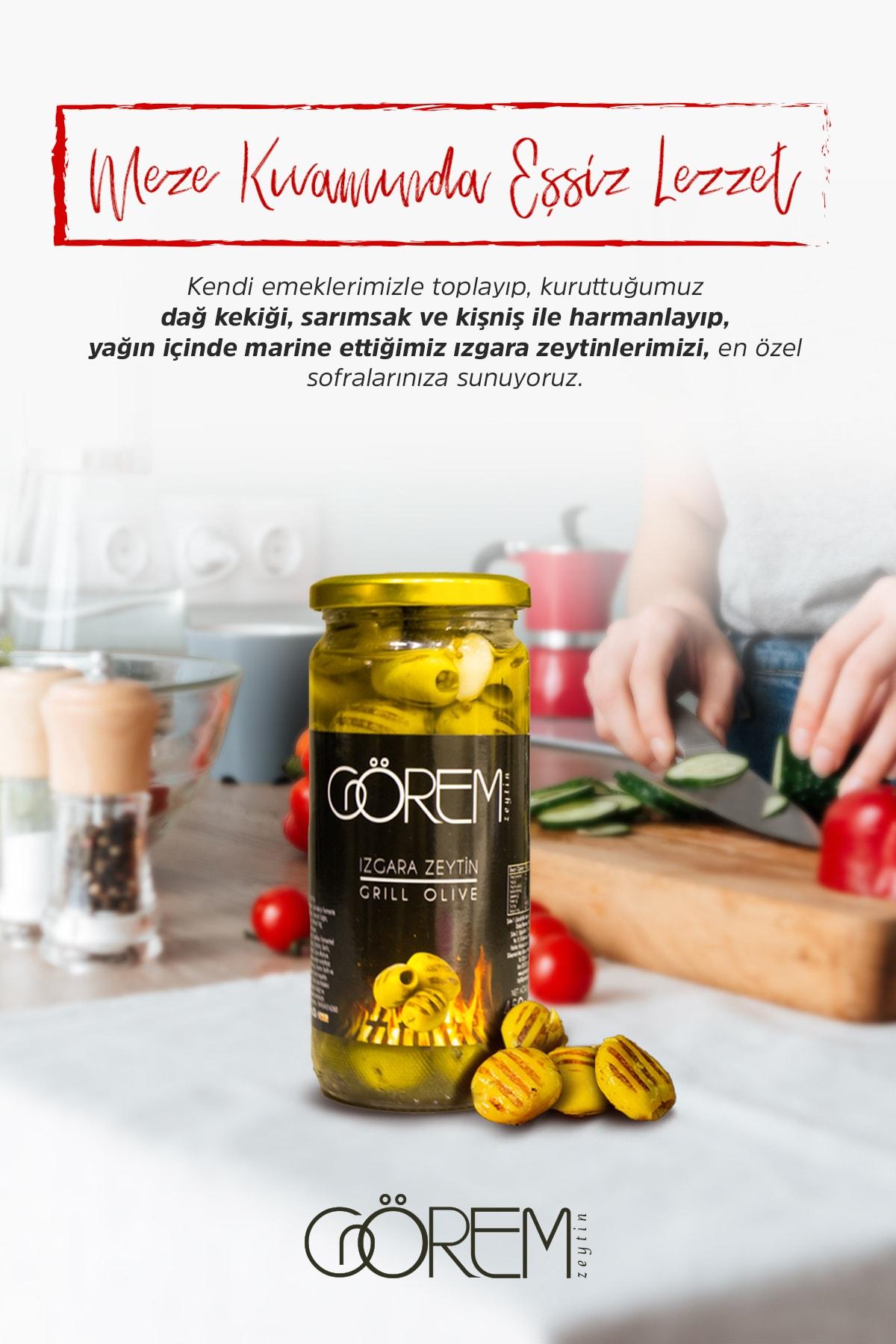 Görem Zeytin Izgara (Grill ) Zeytin 450gr. 1