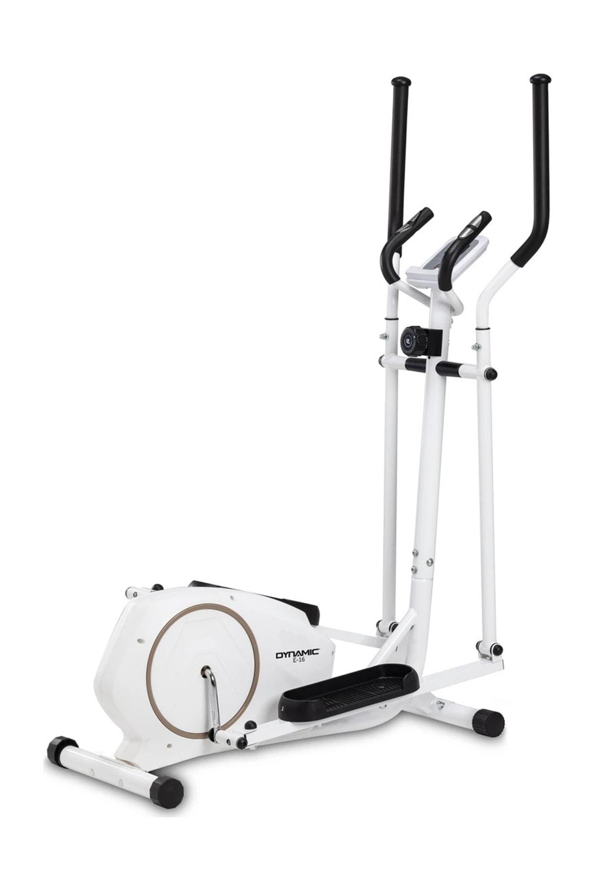 Dynamic E16 White Premium Manyetik Eliptik Bisiklet 1