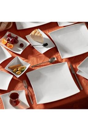 Karaca New Perfect White 26 Parça 6 Kişilik Kahvaltı Seti Kare