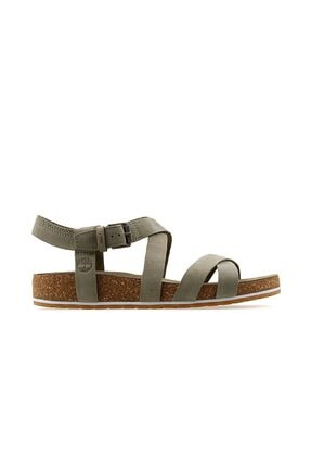 Timberland Kadın Günlük Sandalet A1utz-q69 Gri Malibu Waves Ankle