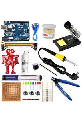 Arduino Uno R3 Başlangıç Lehimleme Seti