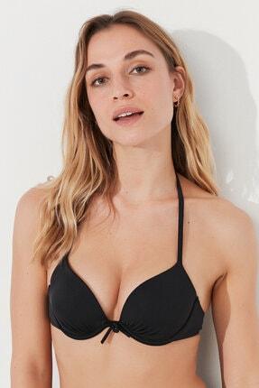 Penti Kadın Siyah Basic Push Up Bikini Üstü