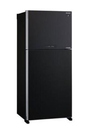 Sharp SJ-XG690M-BK NoFrost Buzdolabı