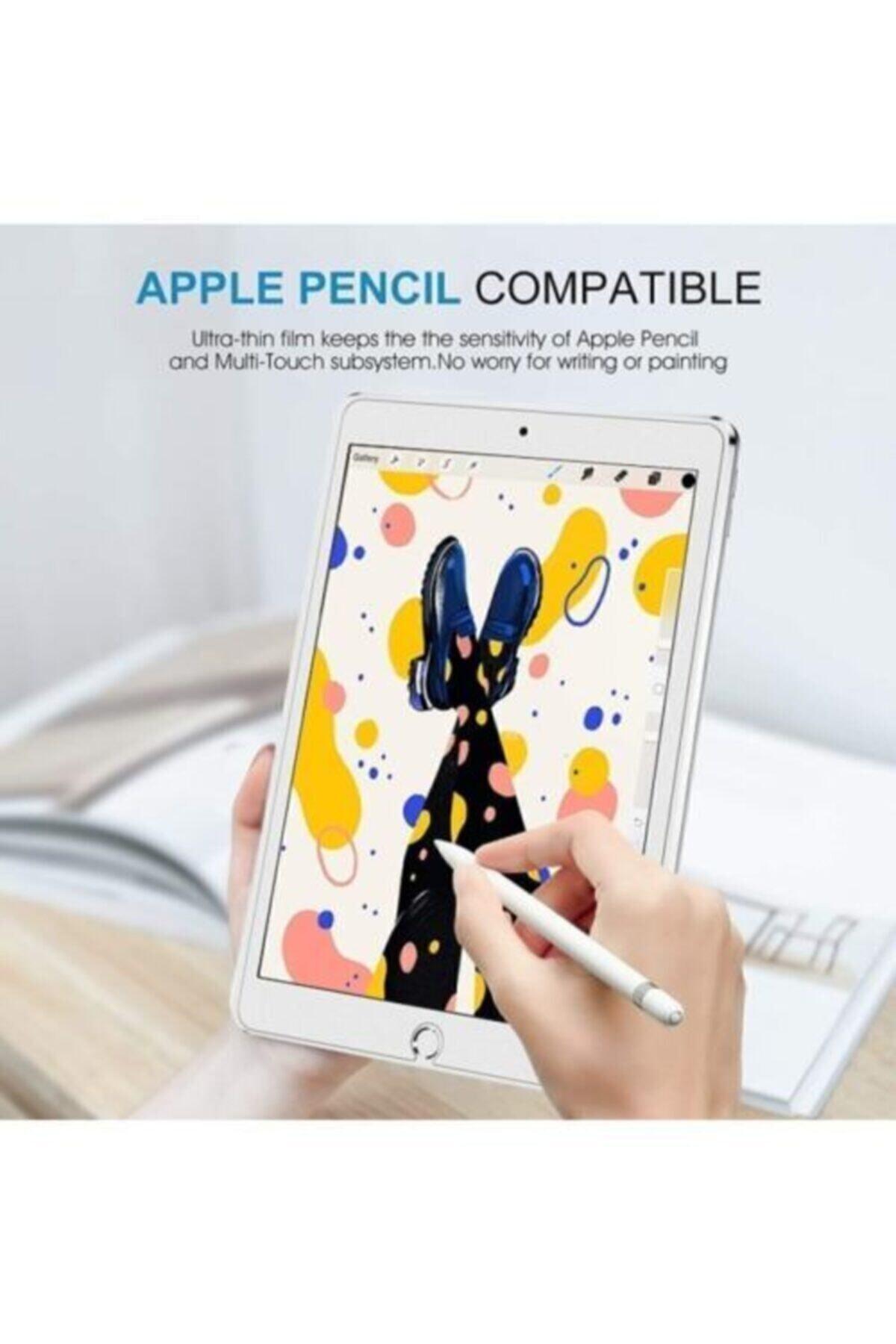 Mobilşube Apple Ipad 8. Nesil 2020 10.2 Inç Tempered Ekran Koruyucu Şeffaf 2