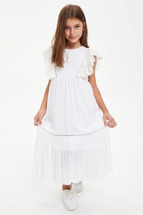 DeFacto Kız Çocuk Brode Elbise