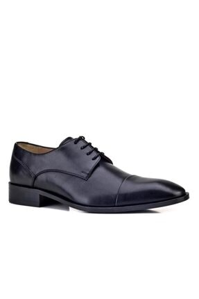 Cabani Erkek Siyah Kösele Ayakkabı