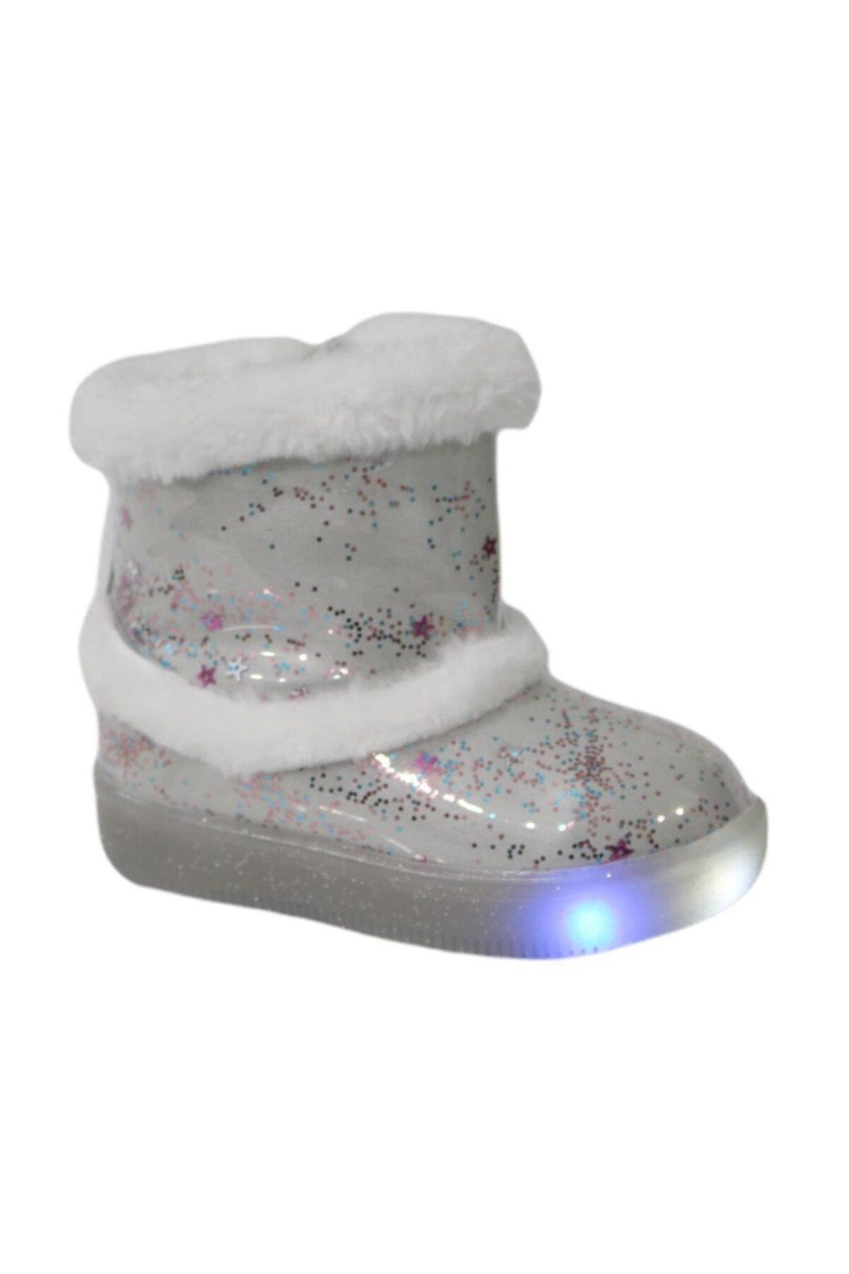 Vicco 220.p20k.108 Beyaz (26-30) Işıklı Çocuk Ayakkabı Bot 1