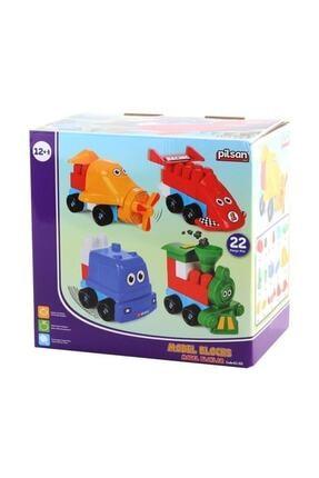 PİLSAN Model Bloklar 21 Parça