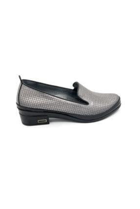 Bulldozer Kadın Platin Klasik Tapuklu Ayakkabı