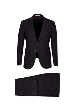 Kiğılı Slim Fit Kuşgözü Takım Elbise