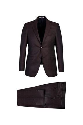 Kiğılı Slim Fit Ekose Takım Elbise