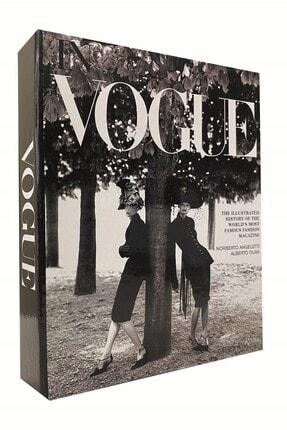 RetroLazer Vogue Kadınlar Dekoratif Kitap Kutu Aksesuar