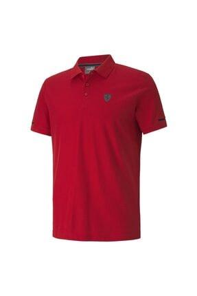 Puma Erkek Kırmızı Polo Yaka T-Shirt 59793102