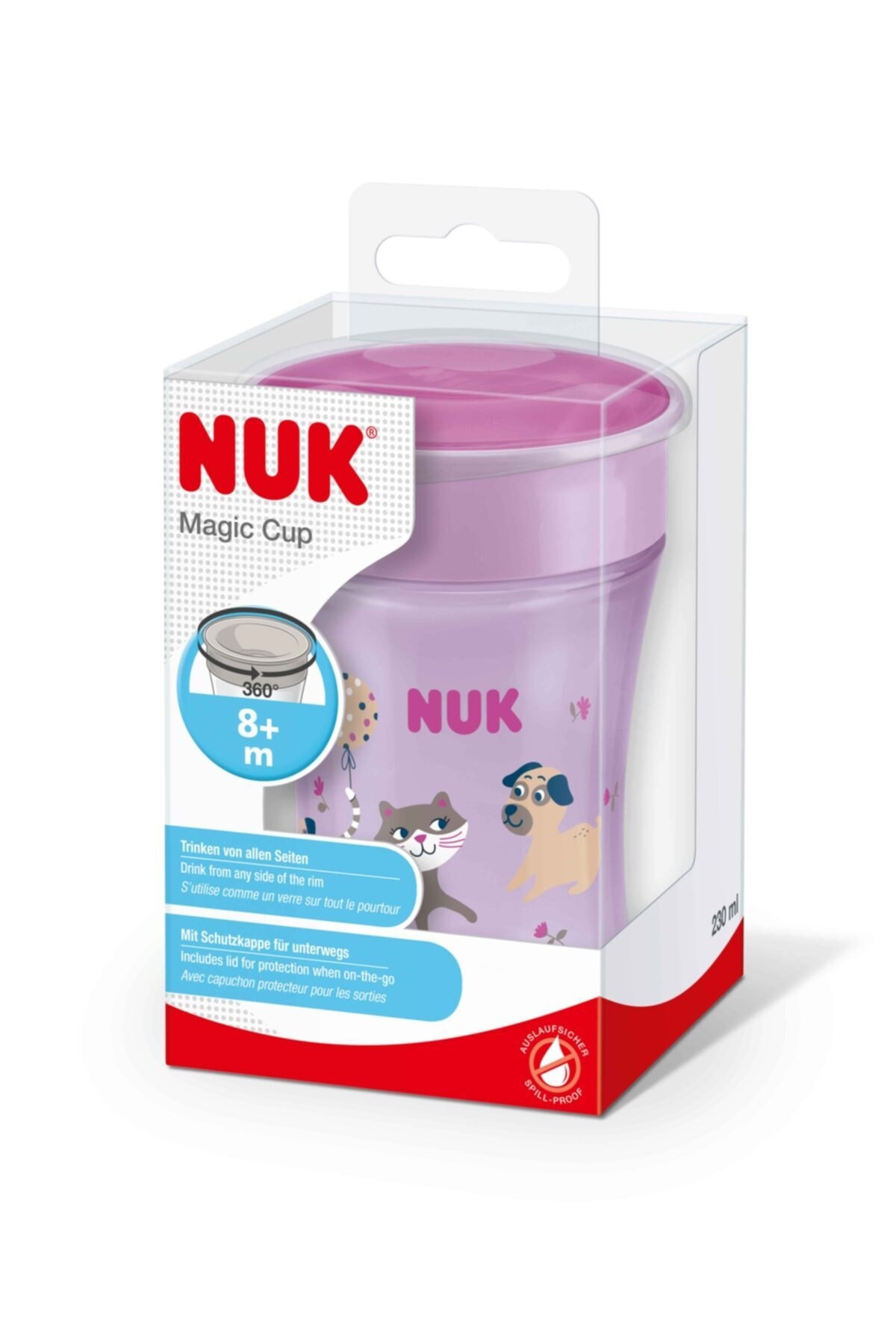 Nuk Magic Cup Evo Bardak Mor Suluk 230 Ml *yeni* 2