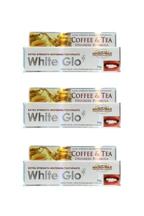 White Glo Çay & Kahve Içenlere Beyazlatıcı Diş Macunu Avantaj Paket X 3 Adet 24 Gr