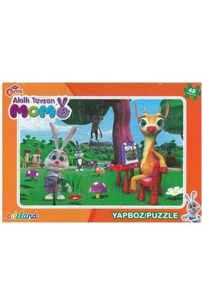 ADELAND Trt Çocuk Akıllı Tavşan Momo 48 Parça Prame Puzzle2 (24x34cm)