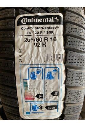 Continental 205/60r16 Ssr 92h Contınental Ts830p