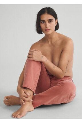 Violeta by MANGO Kadın Yanık Turuncu Bot Kesim İspanyol Paçalı Jean