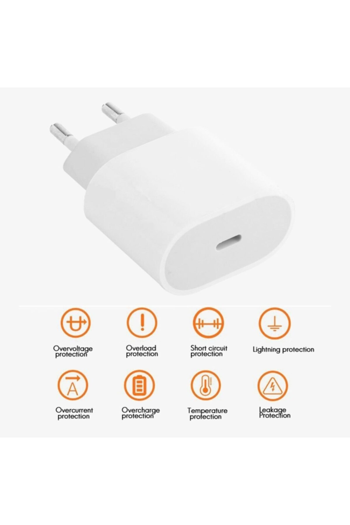 Revix Apple Macbook Ipad Iphone 11 / 12 - Pro Max Mini Uyumlu 20w Adaptör Kablo Usb-c Pd Hızlı Şarj Aleti 2