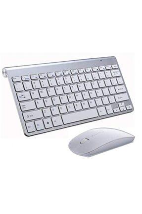 Hobimtek Klavye Mouse Seti 2.4g Wireless Mini Multimedya Klavye Mouse Set