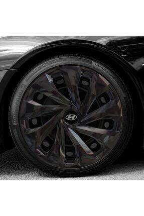 Avsaroto Hyundai Accent Era 14 Inch Uyumlu Piano Siyah Parlak Jant Kapağı