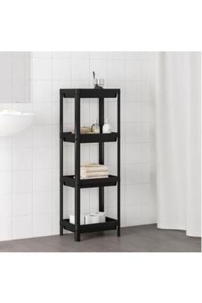 IKEA Vesken 3 Bölmeli Banyo Mutfak Raf Ünitesi  36x23x100 cm