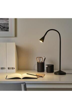 IKEA Siyah Navlinge Ayaklı Led Masa Çalışma Lambası