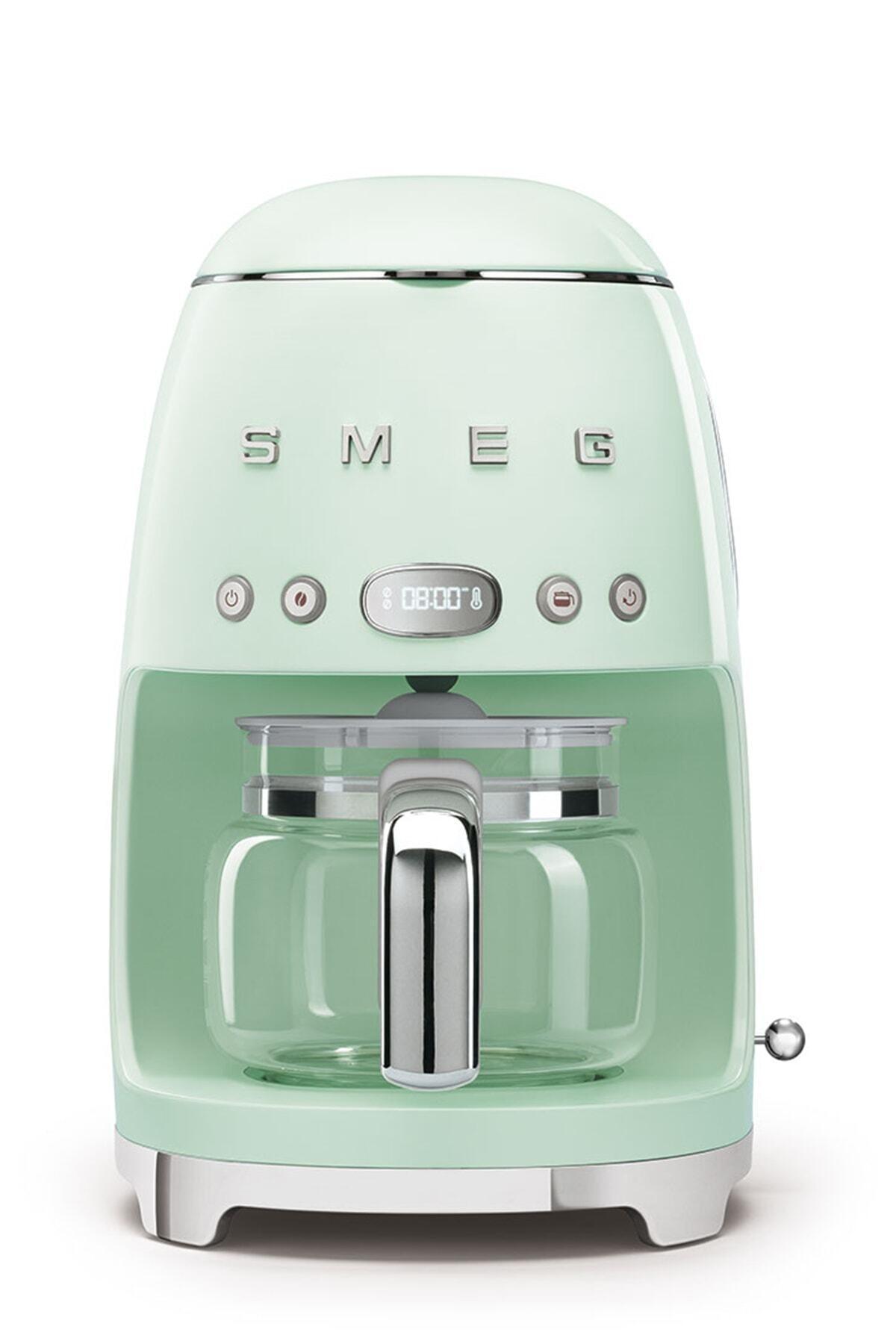 SMEG Pastel Yeşil Boyalı Çelik Kasa Filtre Kahve Makinesi Dcf02pgeu 1