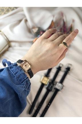 Ess Takı & Saat Retro Minimal Kadın Kol Saati - Rose