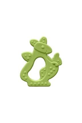 Bambino Kauçuk Yumuşak Diş Kaşıyıcı Yeşil Kanguru