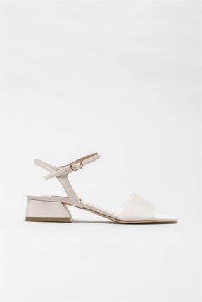 Elle Shoes Kadın Pudra Sandalet