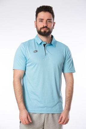 Lotto Erkek Mavi Polo Yaka Tshirt