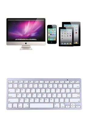 Microcase Bluetooth Kablosuz Mac Iphone Ipad Klavye