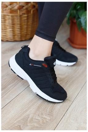 MP Unısex Siyah Yüksek Taban Spor Ayakkabı