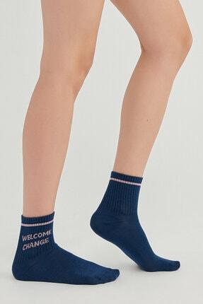 Penti Kadın  Lacivert Soket çorap