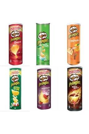 Pringles 6'lı Seti 6x165gr