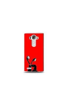 Ren Geyik Lg G4 Mini Muzik Kırmızı Koleksiyon Telefon Kılıf Y-krmklf105