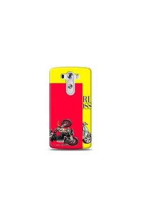 Ren Geyik Lg G3 Mini I Am Craz Y-sarı Koleksiyon Telefon Kılıfı Y-srklf075