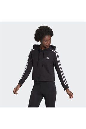 adidas Kadın Essentials 3-stripes Cropped Sweatshirt