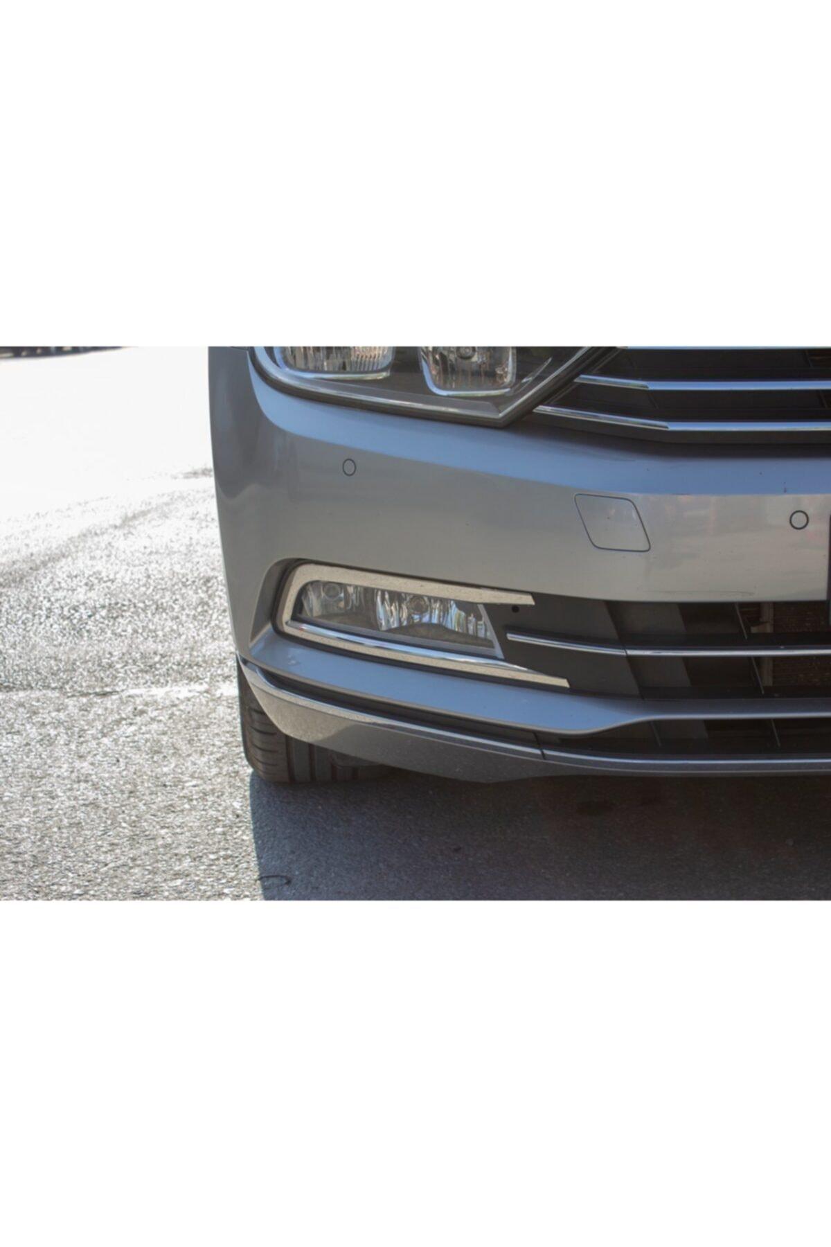 Omsa Vw Passat B8 Krom Sis Farı Çerçevesi P.çelik 2015-2019 2